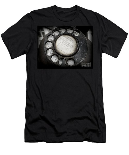 Vintage Telephone Men's T-Shirt (Athletic Fit)