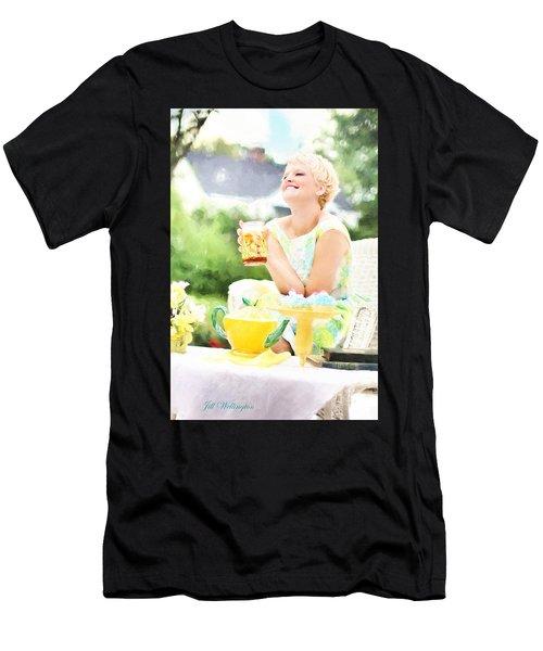 Vintage Val Iced Tea Time Men's T-Shirt (Athletic Fit)