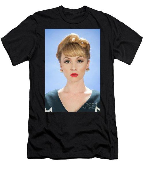 Vintage Woman Men's T-Shirt (Athletic Fit)