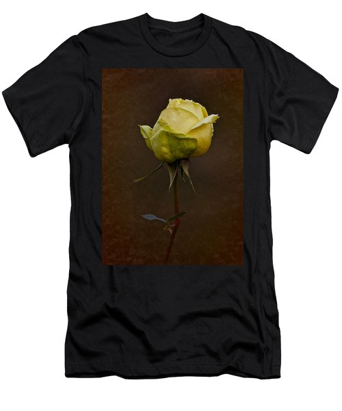 Vintage Yellow Rose 2018 Men's T-Shirt (Athletic Fit)