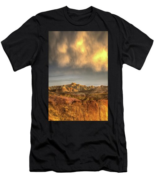 Virga Over The Badlands Men's T-Shirt (Athletic Fit)