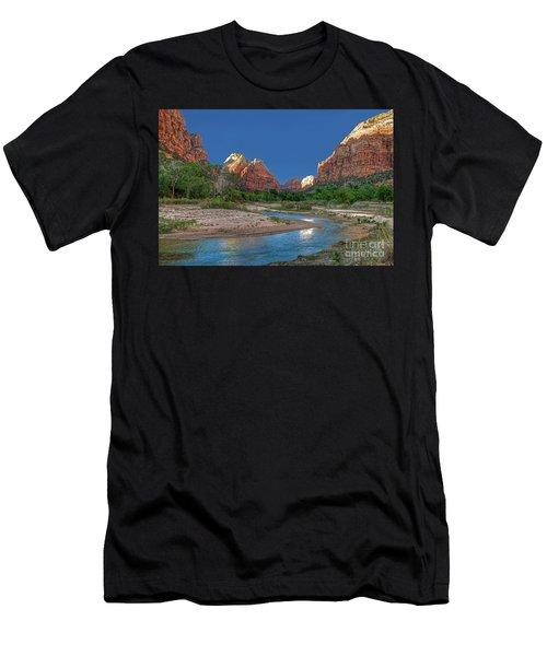 Virgin River Bend Men's T-Shirt (Athletic Fit)