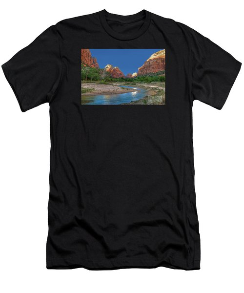 Virgin River Bend Men's T-Shirt (Athletic Fit)