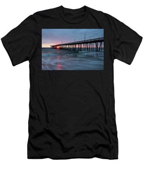 Virginia Beach Fishing Pier Men's T-Shirt (Athletic Fit)