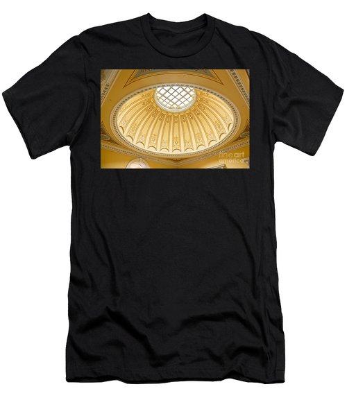 Virginia Capitol - Dome Profile Men's T-Shirt (Athletic Fit)