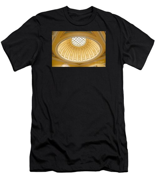 Virginia Capitol - Dome Profile Men's T-Shirt (Athletic Fit)