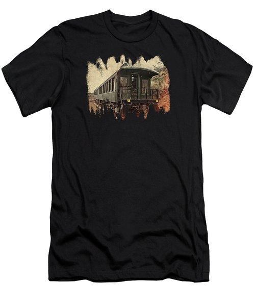 Virginia City Pullman Car Men's T-Shirt (Athletic Fit)