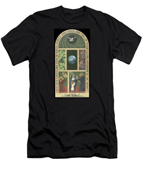 Viriditas - Finding God In All Things Men's T-Shirt (Slim Fit) by William Hart McNichols
