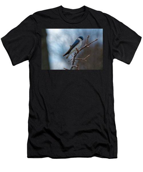 Vision In Blue Men's T-Shirt (Athletic Fit)