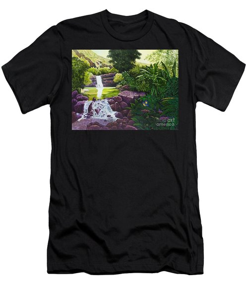 Visions Of Paradise X Men's T-Shirt (Athletic Fit)