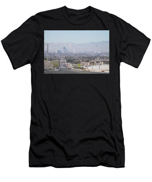 Vista Vegas Men's T-Shirt (Athletic Fit)