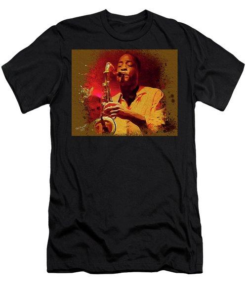 Viva Hot Jazz Men's T-Shirt (Athletic Fit)