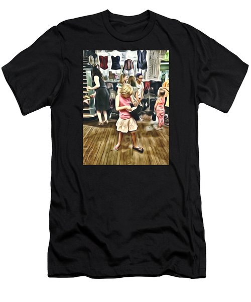 Men's T-Shirt (Slim Fit) featuring the photograph Vivo by Lanita Williams