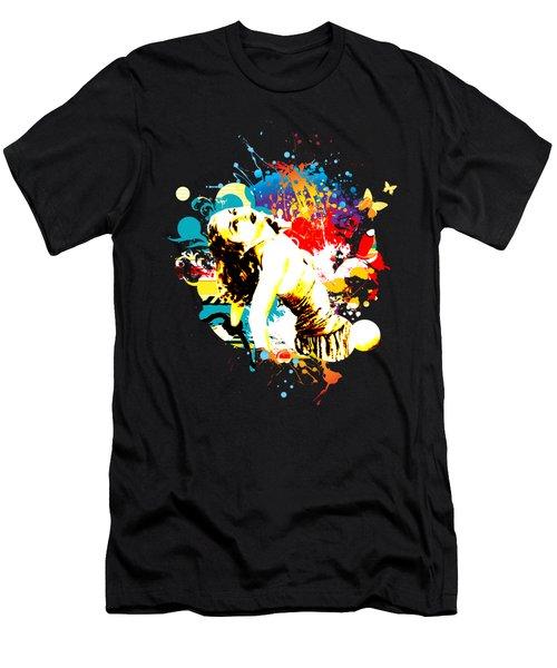 Vixen Subdued Men's T-Shirt (Athletic Fit)