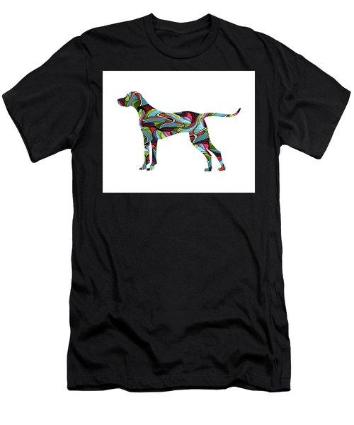 Vizsla Spirit Glass Men's T-Shirt (Athletic Fit)