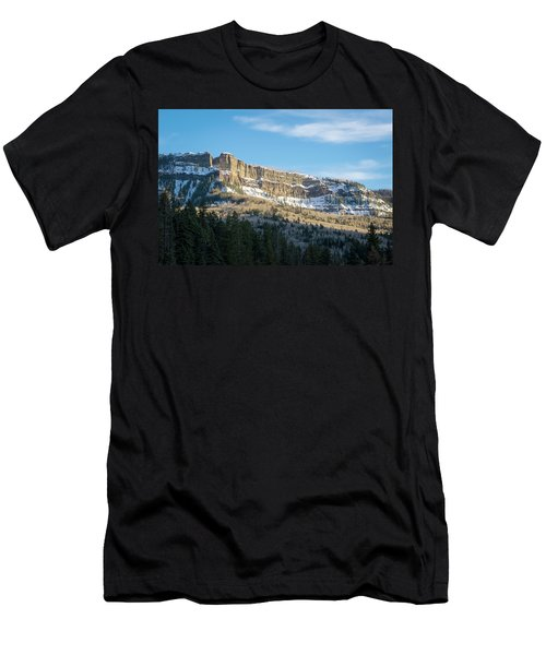 Volcanic Cliffs Of Wolf Creek Pass Men's T-Shirt (Athletic Fit)