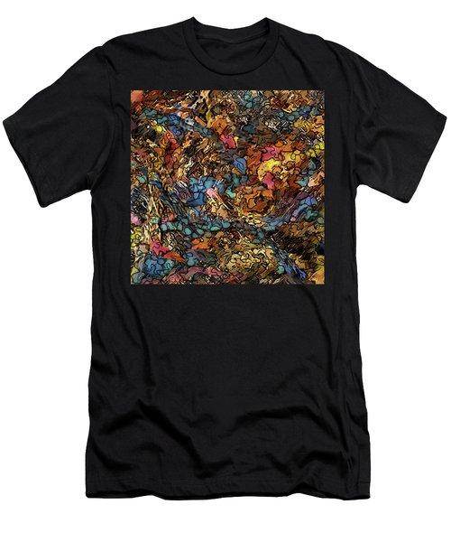 Volcanic Flow Men's T-Shirt (Athletic Fit)