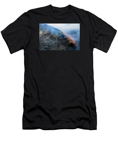 Men's T-Shirt (Slim Fit) featuring the photograph Volcanic Ridge by M G Whittingham
