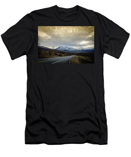 Volcanic Road Men's T-Shirt (Athletic Fit)