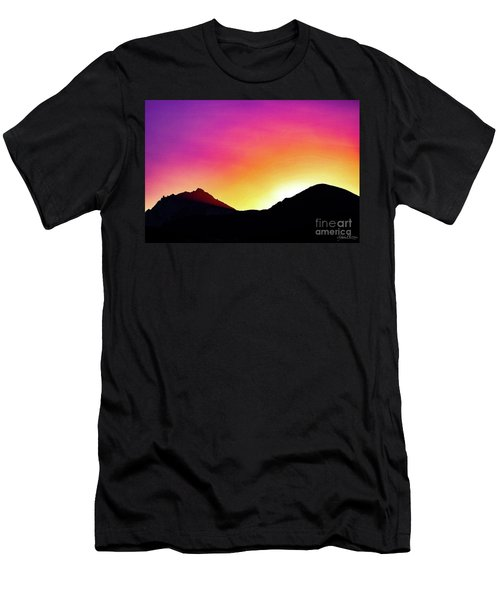 Volcanic Sunrise Men's T-Shirt (Athletic Fit)
