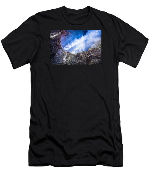 Kilauea Volcano Men's T-Shirt (Athletic Fit)