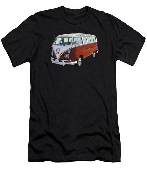 Volkswagen Bus 21 Window Bus  Men's T-Shirt (Athletic Fit)