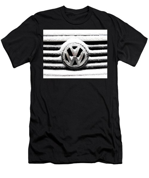 Volkswagen Symbol Under The Snow Men's T-Shirt (Athletic Fit)