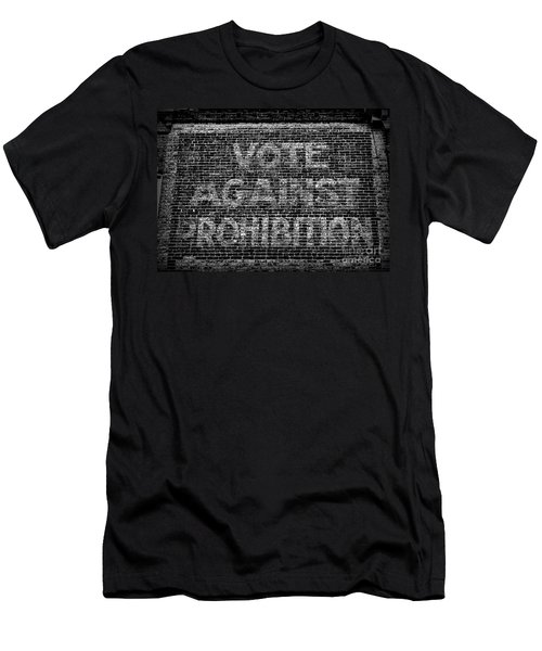 Vote Against Prohibition Men's T-Shirt (Slim Fit) by Paul Ward