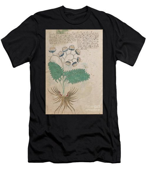 Voynich Flora 14 Men's T-Shirt (Athletic Fit)