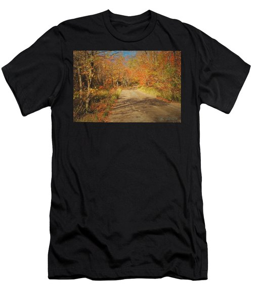Vt.rte. Fifty Eight Hazen  Notch Men's T-Shirt (Athletic Fit)