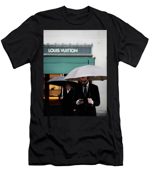 Men's T-Shirt (Slim Fit) featuring the photograph Vuitton by Empty Wall