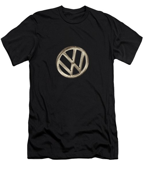 Vw Car Emblem Men's T-Shirt (Athletic Fit)