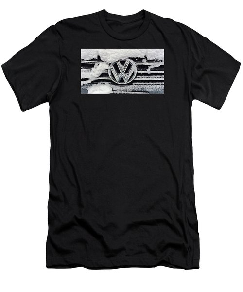 Vw Snow Day Men's T-Shirt (Athletic Fit)