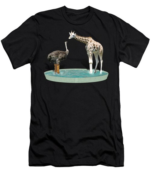 Wading Pool Men's T-Shirt (Athletic Fit)