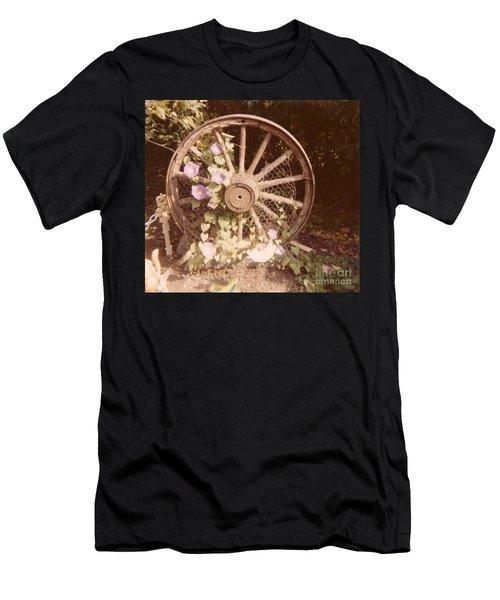 Wagon Wheel Memoir Men's T-Shirt (Athletic Fit)