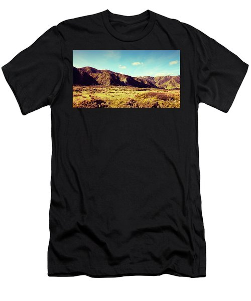 Wainui Hills Men's T-Shirt (Slim Fit) by Joseph Westrupp