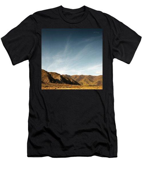 Wainui Hills Squared Men's T-Shirt (Slim Fit) by Joseph Westrupp