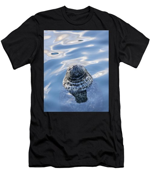 Waiting For A Fish Men's T-Shirt (Athletic Fit)