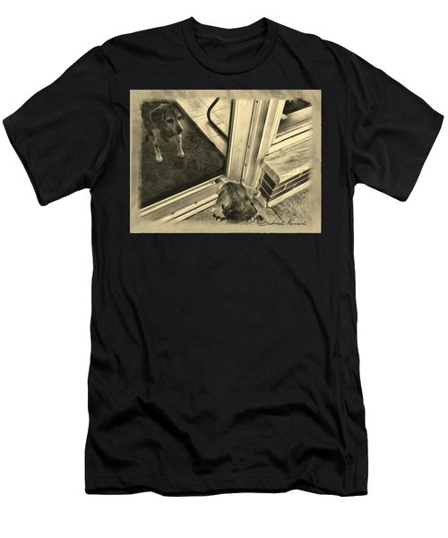 Waiting For Daddy Men's T-Shirt (Athletic Fit)