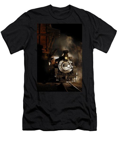 Waiting For More Coal Men's T-Shirt (Athletic Fit)