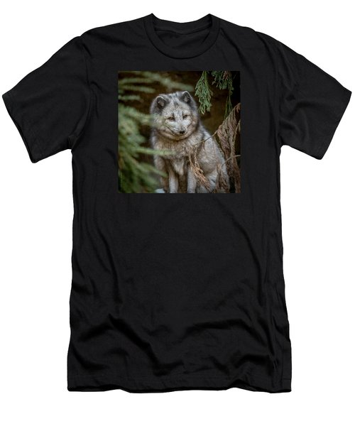 Men's T-Shirt (Slim Fit) featuring the photograph Waiting For Red by Wade Brooks