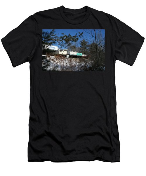 Waiting For Spring Men's T-Shirt (Athletic Fit)