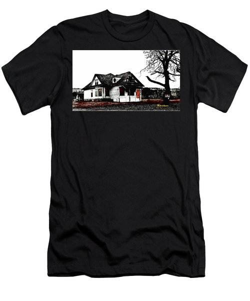 Men's T-Shirt (Slim Fit) featuring the photograph Waiting For The Light by Sadie Reneau