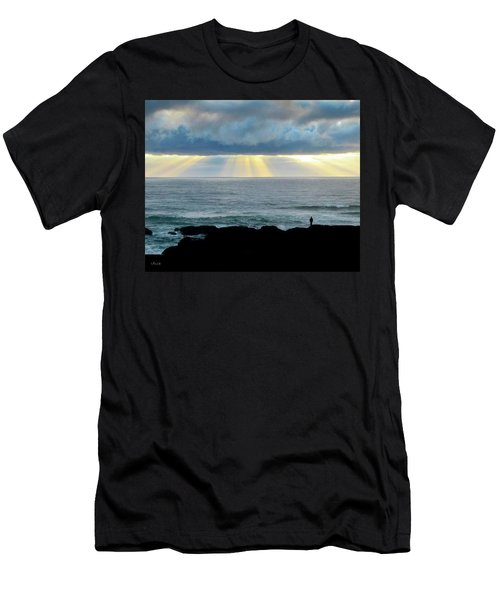 Waiting For The Rain. Men's T-Shirt (Athletic Fit)