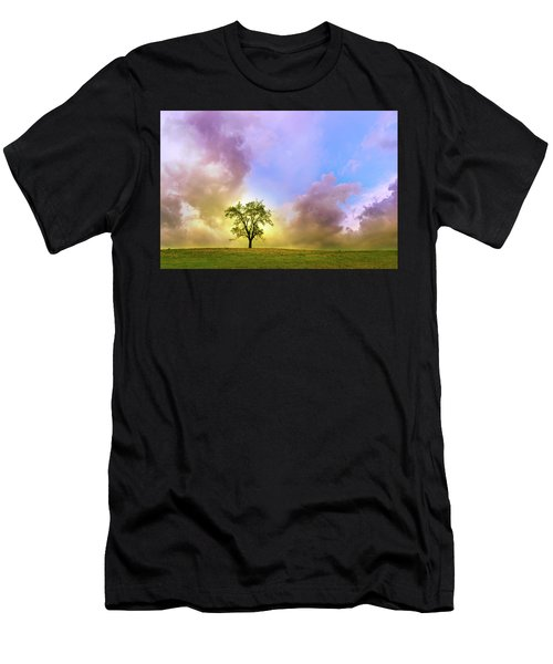 Waiting For The Storm Men's T-Shirt (Athletic Fit)