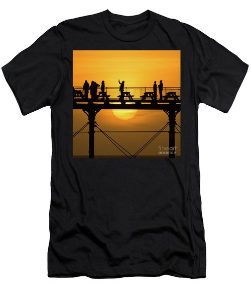Waiting For The Sun Men's T-Shirt (Athletic Fit)