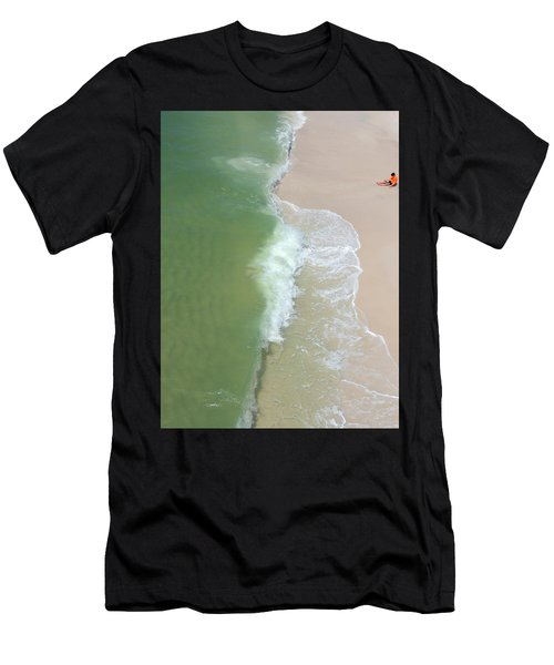 Waiting For The Wave Men's T-Shirt (Athletic Fit)