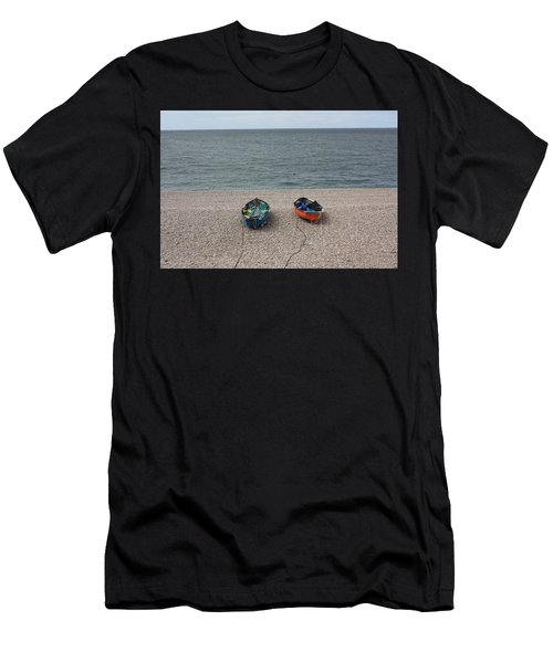 Waiting To Go To Sea Men's T-Shirt (Athletic Fit)