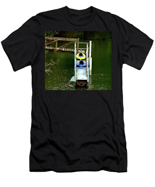 Waiting To Kayak Men's T-Shirt (Athletic Fit)