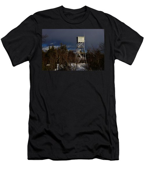 Waiting Tower Men's T-Shirt (Athletic Fit)